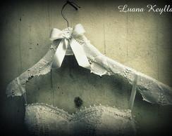Cabide em Renascen�a p/ Vestido de noiva