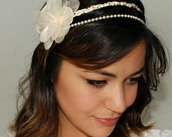 Headband NOIVA TAYLOR p�rola/champagne