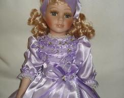 Vestido de boneca luxo.