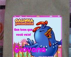 Saquinho Galinha Pintadinha