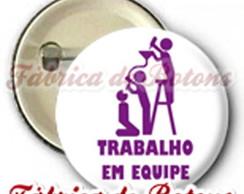 BOTON 2,5cm TRABALHO EM EQUIPE