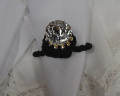 porta guardanapo diamante com strass