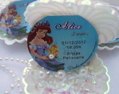 Convite Concha Ariel c/ P�rolas