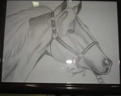 Desenho em Grafite- Cavalo