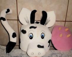 conjunto chap�u,teta,rabo vaca