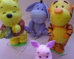 Turma do Pooh Cute - Decora��o de mesa