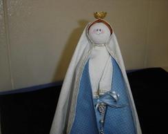 N. Senhora das Gra�as em tecido