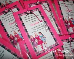 Convite Marcador - Barbie