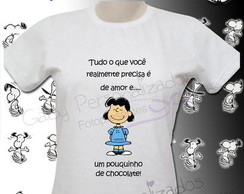 Camiseta Personalizada Cartoon - Snoopy