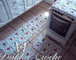 Jogo de cozinha mini frutas