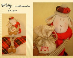 WALLY ~ ovelha natalina