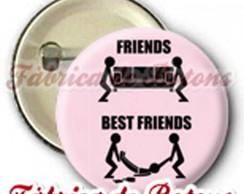 BOTON 2,5cm BEST FRIENDS