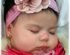 Faixinha Baby Flor Cam�lia