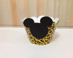 Saia para cupcake Mickey Mouse Safari