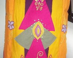 almofada colorida