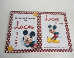 Kit livrinho pintura Mickey