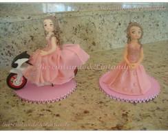 Topos de bolo Debutante
