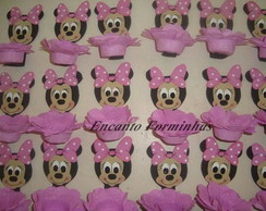 Forminhas decorativa MINNIE ROSA