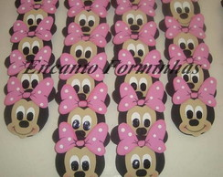 Aplique decorativo 7cm MINNIE ROSA