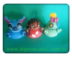 lembran�as/potes- Lilo&Stich_Big Eyes