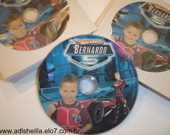Lembran�a DVD Hot Wheels