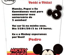 Mickey - Convite Personalizado