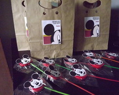 Mickey -  Etiqueta para Pirulito