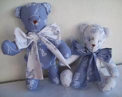 Ursinho de pano -Proven�al azul