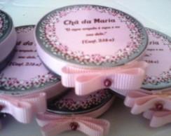 Latinha Personalizada com fita e per�la