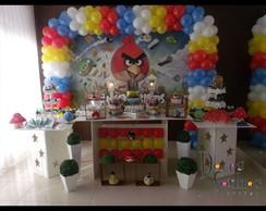 Decora��o de Festa Angry Birds Proven�al