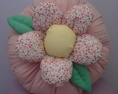 Almofada de Fl�r - rosa
