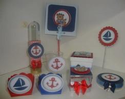 Kit festa Ursinhos marinheiro