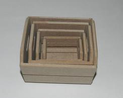 Caixotes de madeira para decora��o