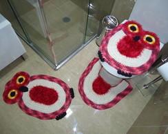 Jogo de banheiro - Coruja BNH 050