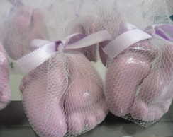 KIT 50 PARES DE MINI PEZINHOS NO TULE
