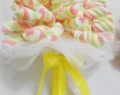 Buqu� de Marshmallow