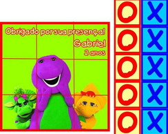Barney jogo da velha