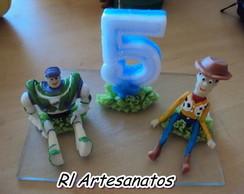 Topo de Bolo do Toy Story