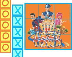 Lazy Town jogo da velha