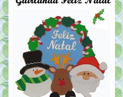 MOLDE PARA GUIRLANDA DE NATAL