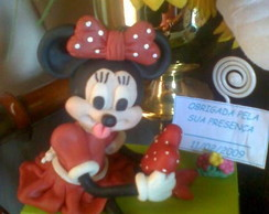 Enfeite de mesa MINNIE/Souvenir MINNIE