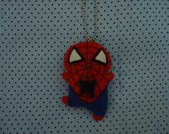 chaveiro de feltro homem aranha
