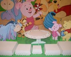 Mesa Tem�tica Pooh Baby / Pooh