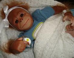 Beb� Reborn Filhote de Orangotango
