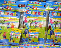 Kit revista de colorir Backyardigans