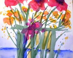 aquarela primavera