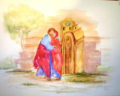 S. Joaquim - ( aquarela)