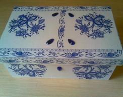 Caixa para j�ias- Azulejo portugu�s