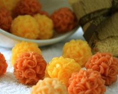 Sabonete Artesanal - Flores