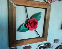 quadro vazado demoli��o rosa de chapa